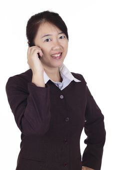 Free Businesswoman On The Phone Royalty Free Stock Photo - 15781825