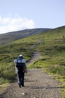 Free Hiking In Lapland Stock Photo - 15782070
