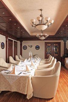 Free Interior Of Luxury Restaurant Royalty Free Stock Photos - 15782298
