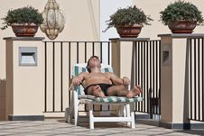Free Sunbather Stock Photo - 15782310
