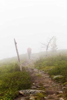 Free Hiking In Lapland Stock Images - 15782504