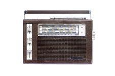 Free Retro Radio Brown Stock Photos - 15783113