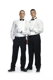 Free Two Handsome Men Stock Photos - 15783233