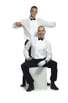 Free Two Handsome Men Royalty Free Stock Photos - 15783258