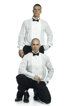 Free Two Handsome Men Royalty Free Stock Photography - 15783387
