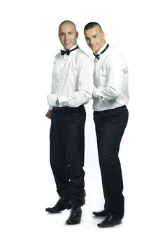Free Two Handsome Men Royalty Free Stock Image - 15783396