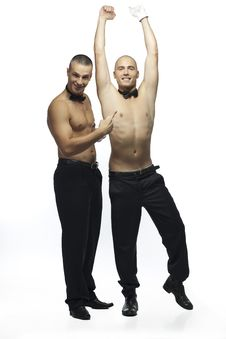 Free Two Sexy Men Stock Photography - 15783522