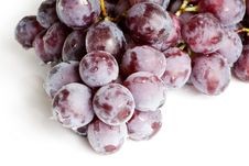 Free Fresh Red Grape Isolated Stock Photo - 15783930