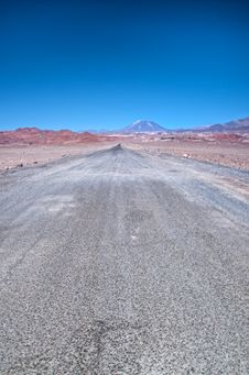 Free Desert Road Royalty Free Stock Photo - 15783955