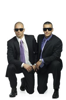 Free Two Cool Handsome Men Stock Photography - 15784232