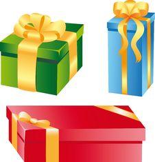 Free Gift Boxes Stock Photo - 15784430