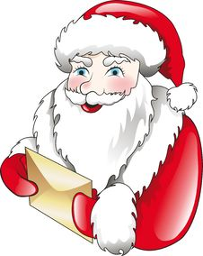 Free Santa Claus And Letter Stock Photos - 15784453