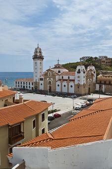 Free Basilica At Candelaria, Tenerife Island Royalty Free Stock Photos - 15784558
