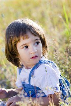 Free Little Girl Portrait Stock Image - 15784831