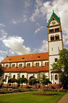 Free Saint Sebastian Church In Ketsch, Nearby Heidelber Stock Images - 15784944