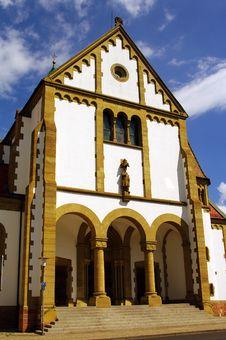Free Saint Sebastian Church In Ketsch, Heidelber Stock Photo - 15784960