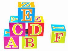 Free Alphabet Royalty Free Stock Photography - 15787227