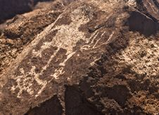 Free Ancient Indian Petroglyph Stock Photo - 15787440