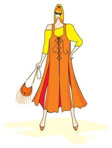 Free Elegant  Fashion Woman Royalty Free Stock Photography - 15787937