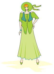 Free Elegant  Fashion Woman Royalty Free Stock Image - 15787946