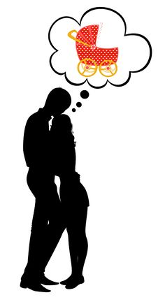 Free Silhouettes Of Two Lovers Royalty Free Stock Images - 15788119