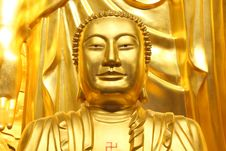 Free A Big Golden Buddha Stock Photos - 15788443