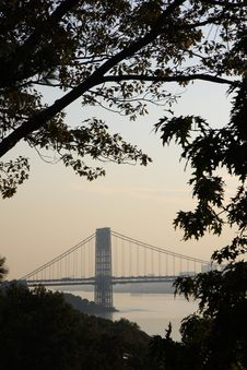 Free Washington Bridge View Stock Images - 15789674
