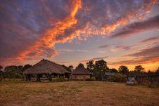 Free Village At Dawn Stock Image - 15789731