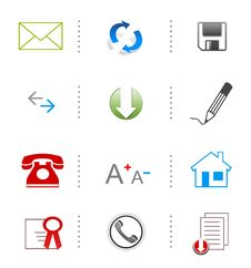 Free Website Icons Stock Image - 15789821
