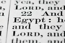 Free Egypt Text Stock Photos - 15789863