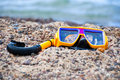 Free Snorkeling On The Beach Royalty Free Stock Image - 15791546