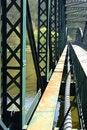Free Old Steel Bridge Stock Photo - 15795830