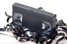 Free Video Cassette Royalty Free Stock Photo - 15790125