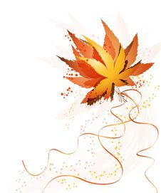 Free Bouquet Autumn Leaves Stock Image - 15790411