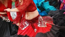 Belly Dancers. Stock Image