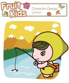 Free Active Kid 17 - Angling For Fish Stock Photos - 15791013