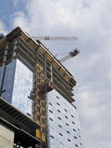 Condominium Under Construction Stock Photos