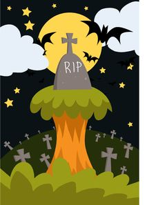 Free The Graveyard Stock Photography - 15792092