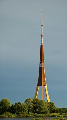 Free TV Tower At Riga City Stock Photos - 15792113