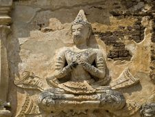 Free Goddess In Wat Chedi Chet Yot Stock Photos - 15792573