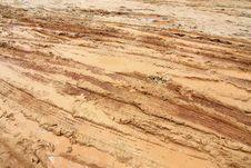 Free Closeup Of Country Muddy Rut Royalty Free Stock Image - 15793306