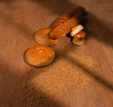 Free Breads In Variety Of Shapes Royalty Free Stock Images - 15793389