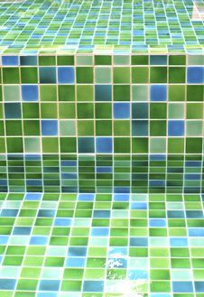 Free Glass Mosaic Texture Background Stock Photography - 15793542