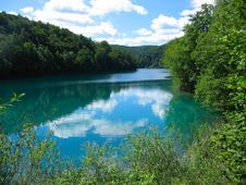 Free Plitvice National Park Lake Royalty Free Stock Photography - 15793717