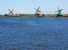 Free Mills In Holland Stock Image - 15794291