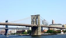 Free Brooklyn Bridge NYC Royalty Free Stock Photography - 15795017