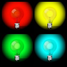 Free Light Bulbs Stock Images - 15795334