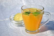 Free Fresh Orange Juice Stock Photography - 15795432