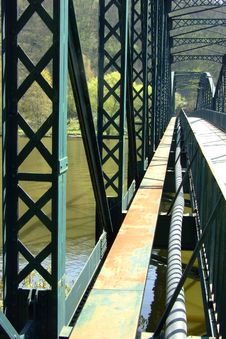 Free Old Steel Bridge Stock Photo - 15795830