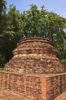 Free Pagoda In Ayuthaya Center Of Thialand Stock Image - 15795981